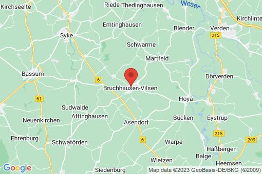 Karte Bruchhausen-Vilsen