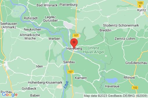 Karte Havelberg