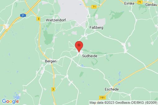 Karte Hermannsburg
