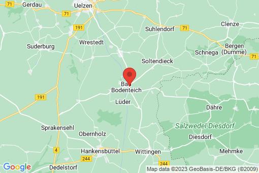 Karte Bad Bodenteich