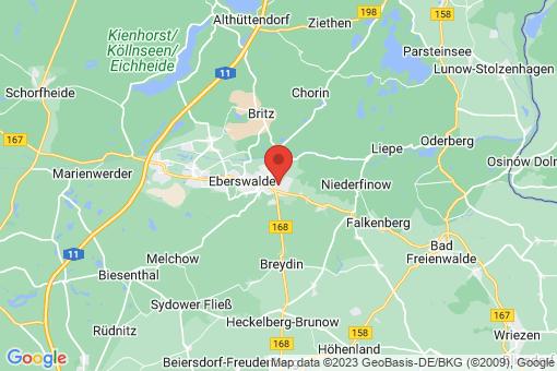 Karte Eberswalde