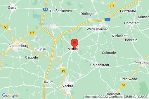 Karte Visbek