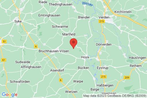 Karte Hoyerhagen