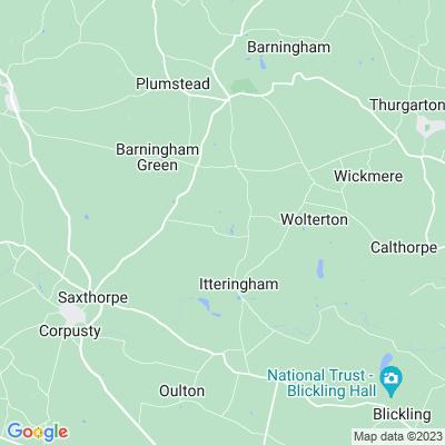 Wolterton Hall Location