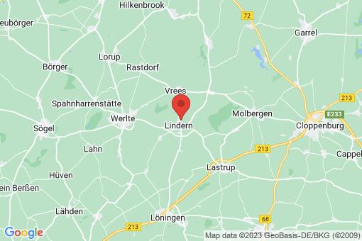 Karte Lindern (Oldenburg)