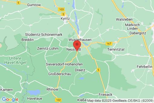 Karte Neustadt (Dosse)