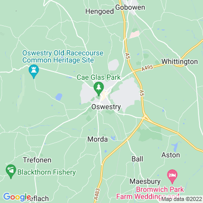 Aston Hall, Oswestry Location