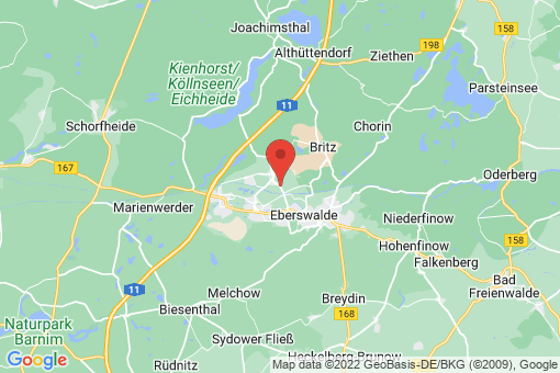 Karte Finowfurt