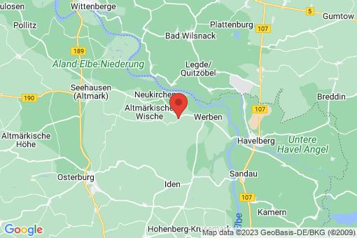 Karte Wendemark