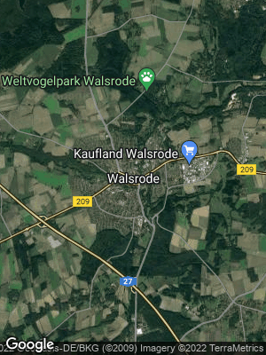 Google Map of Walsrode