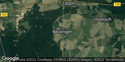 Google Map of Neulingen