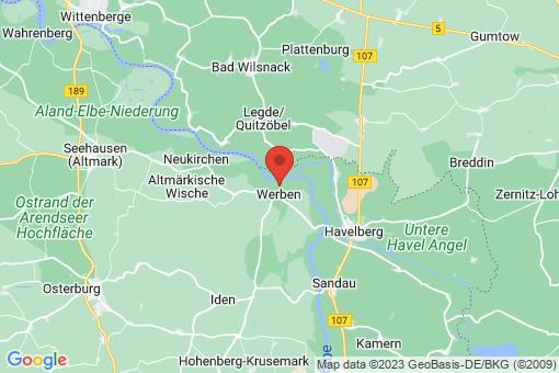 Karte Werben (Elbe)