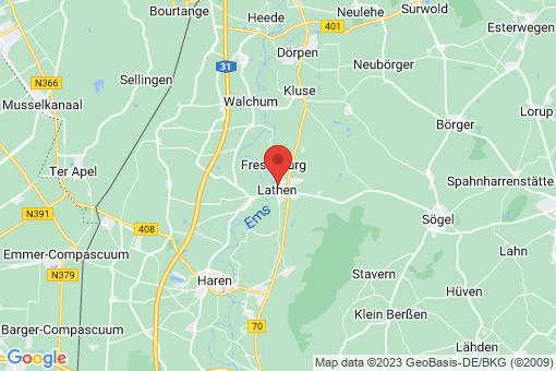 Karte Lathen