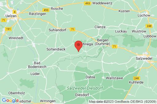 Karte Schnega Külitz
