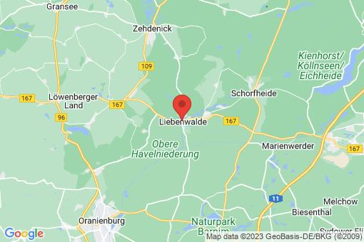 Karte Liebenwalde