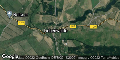Google Map of Liebenwalde