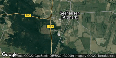 Google Map of Seehausen