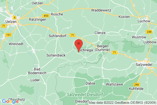 Karte Schnega Gledeberg