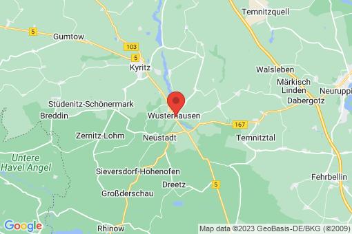 Karte Wusterhausen (Dosse)