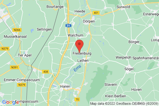Karte Fresenburg