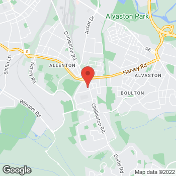 Map of wilko Allenton at 858/860 Osmaston Road, Derby,  DE24 9AB
