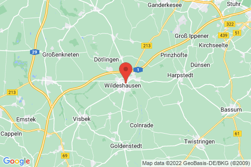 Karte Wildeshausen