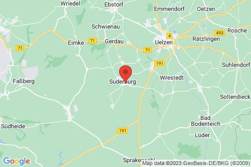 Karte Suderburg
