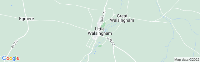 Map Of Walsingham