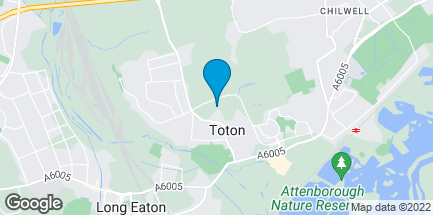 Map of Toton Store, Swiney Way in Nottinghamshire