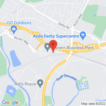 Google Map of Derby (Head office)