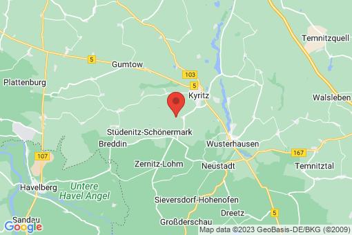 Karte Kyritz Holzhausen