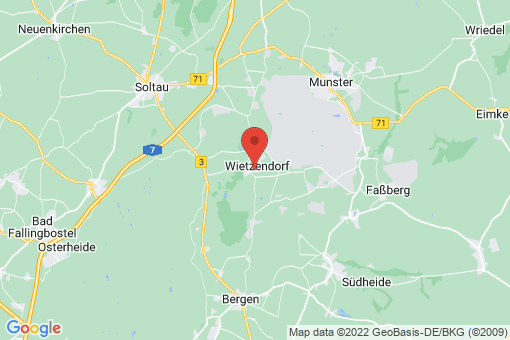 Karte Wietzendorf