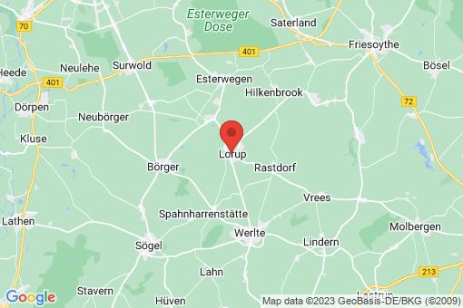 Karte Lorup