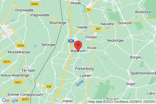 Karte Walchum