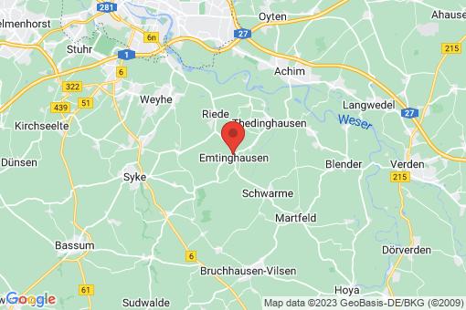 Karte Emtinghausen