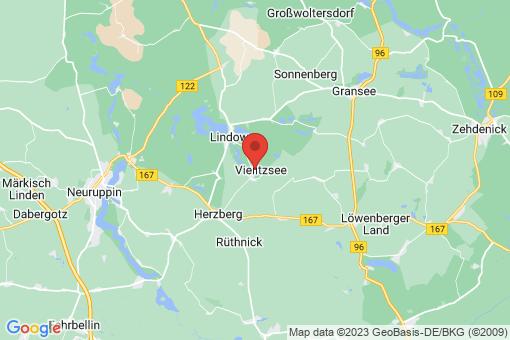 Karte Seebeck-Strubensee