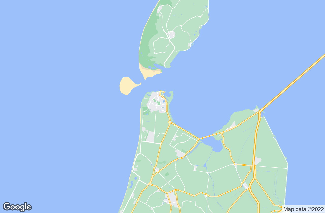 Google Map of Den Helder