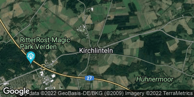 Google Map of Kirchlinteln