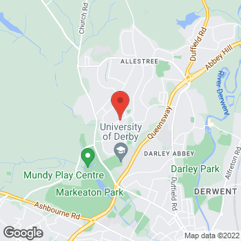 Map of wilko Allestree at 107 Park Farm Shopping Centre, Derby,  DE22 2QQ