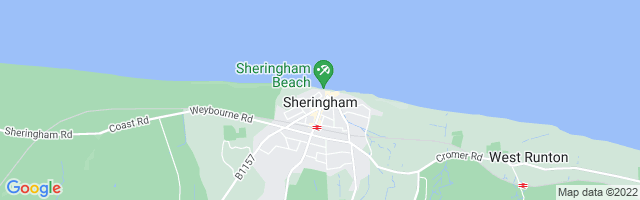 Map Of Sheringham