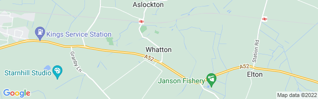 Map Of Whatton