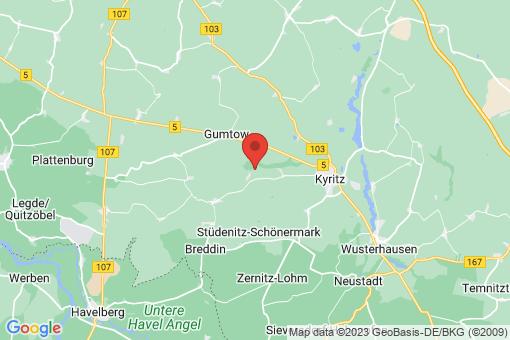 Karte Rehfeld-Berlitt