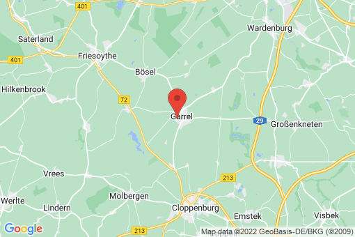Karte Garrel