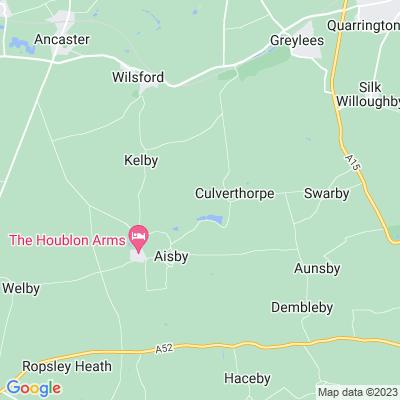 Culverthorpe Hall Location