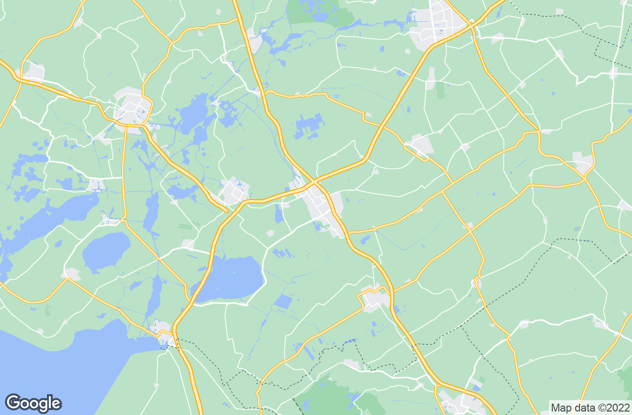 Google Map of Heerenveen