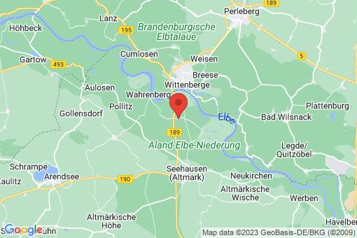 Karte Geestgottberg