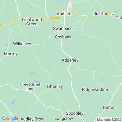 Adderley Park Location