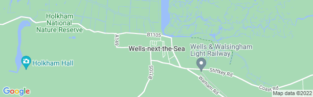 Map Of Wells-next-the-Sea