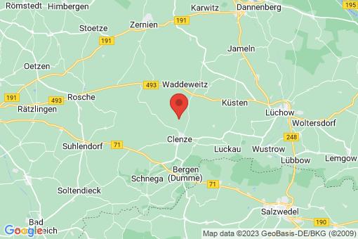 Karte Clenze Seelwig