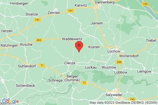 Karte Clenze Granstedt